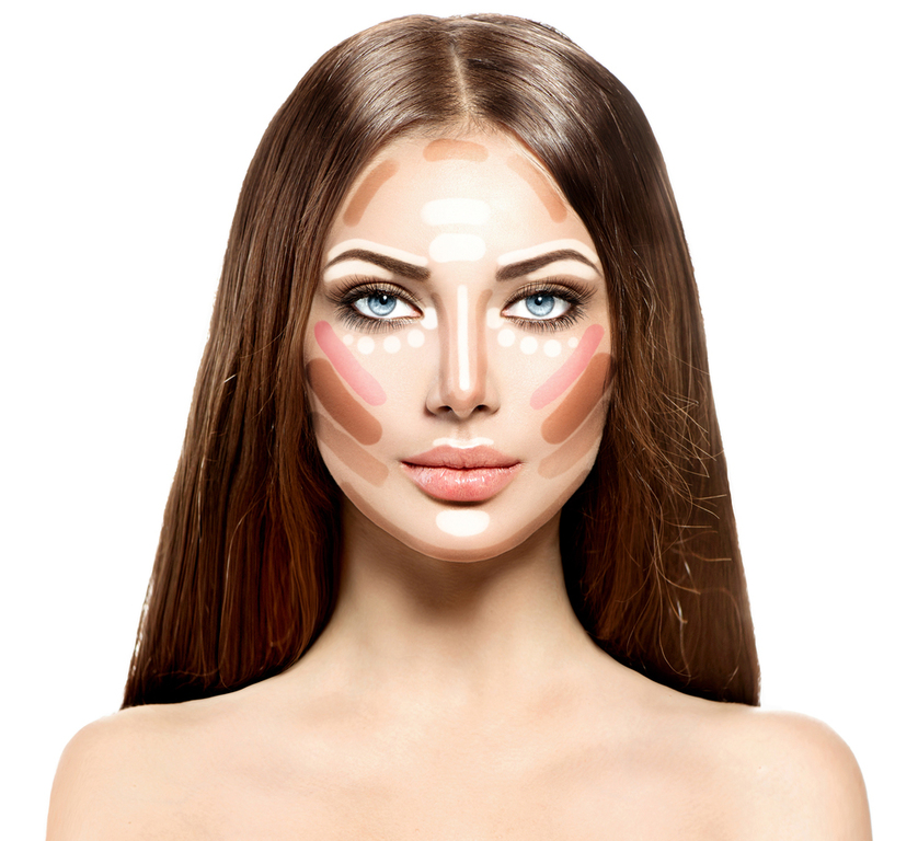 нюд макияж для брюнеток фото