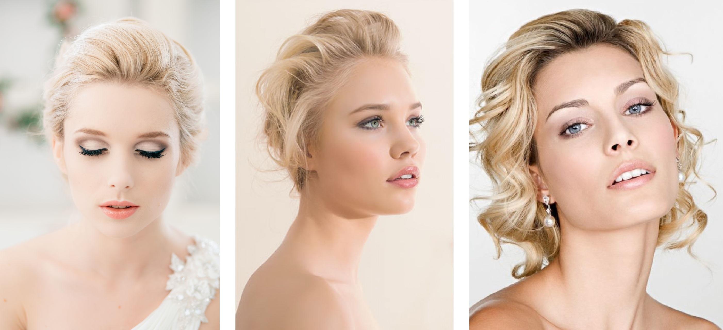 Свадебный макияж для бледного лица