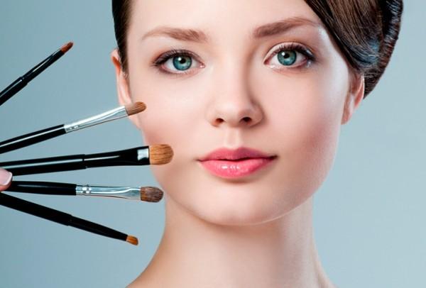 макияж при нависших веках