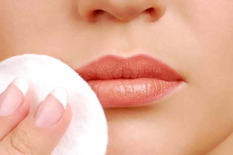 как правильно снять макияж с лица