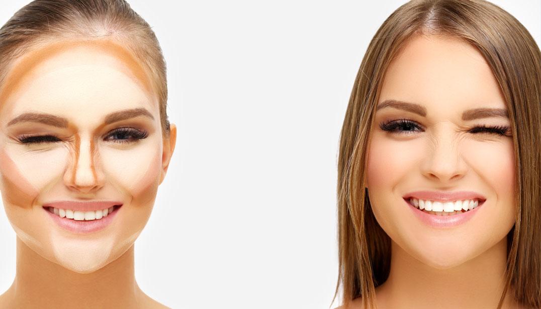 Как сделать свое лицо идеальным 515